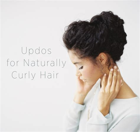 instructions on how to do a curly dressy chin lenght hairstyle wedding updo for naturally curly hair crazyforus