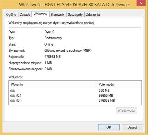 format dysku z gpt na mbr styl partycji gpt czy mbr windows 10 dobreprogramy forum
