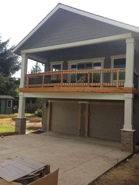 extend  deck   garage  extra covered parking