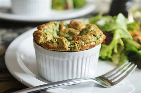 spinach cheese souffle easy spinach souffl 233 s andrew zimmernandrew zimmern