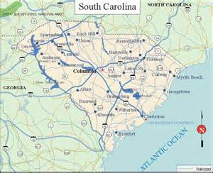 carolina in us map south carolina facts and symbols us state facts