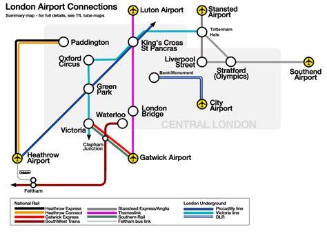 thameslink stops plan et carte des a 233 roports et terminaux de londres