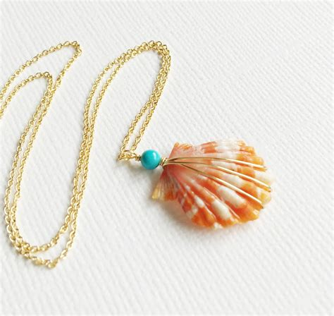 shell jewelry necklace nani shell necklace by maimodajewelry