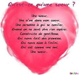soeurs poems po 232 me pour ma soeur 笙 tiamo笙 s蜩urs