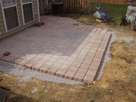 How To Clean Patio Pavers 1000 Images About Paver Patio On Patio Laying Pavers And Ponds
