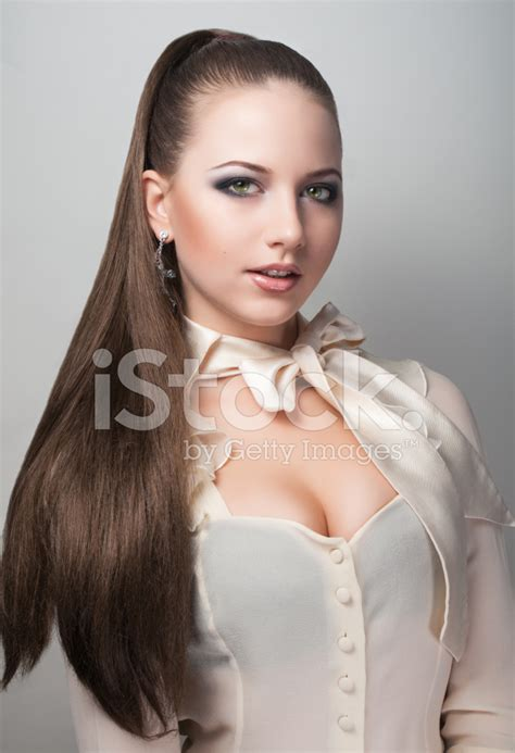sexy styles for pubert hair portrait of long hair sexy girl stock photos freeimages com