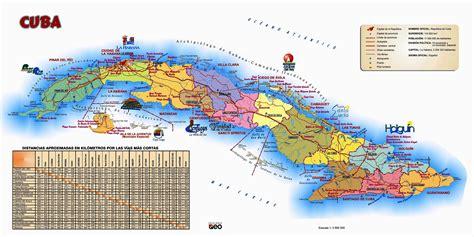 lugares turisticos de cuba destinos turismo mapa