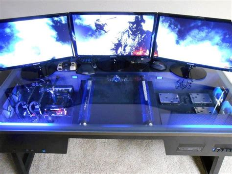Building A Gaming Desk 25 Best Gaming Computer Ideas On Pinterest Gaming Computer Desk Build My Pc And Buy Gaming Pc