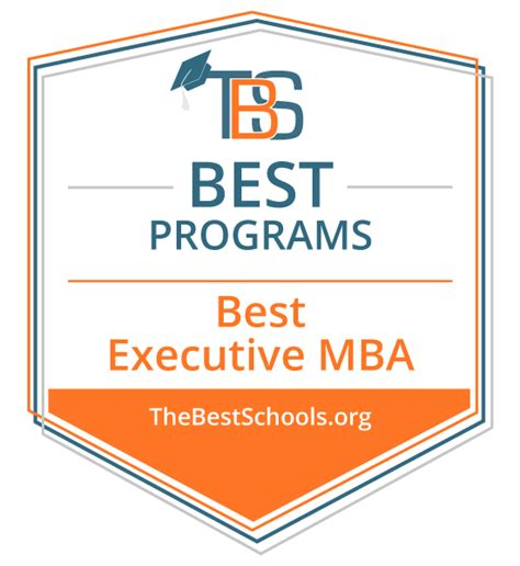 Free Executive Mba Programs by The Best Executive Mba Programs On Cus The