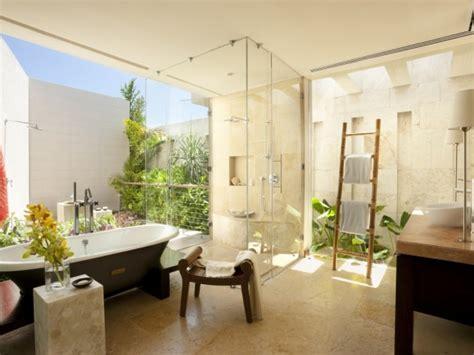 coolest  open bathroom designs