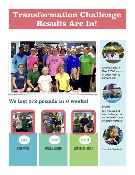 challenge physical therapy january 2016 transformation challenge results the smith