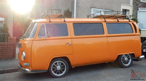 orange volkswagen van 1969 vw volkswagen campervan orange