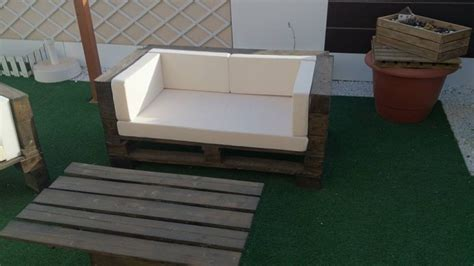 Sofa Set Made Of Wood by Pallet Wood Made Outdoor Sofa Set Pallet Ideas