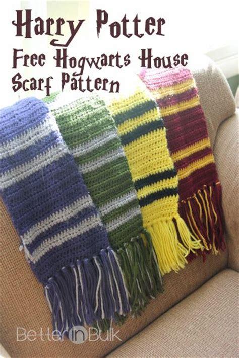 gryffindor scarf knitting pattern the 25 best harry potter crochet ideas on