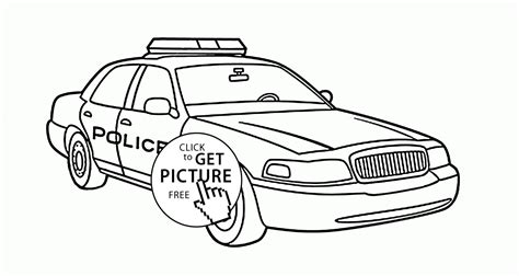 latest real police car coloring page for kids img have