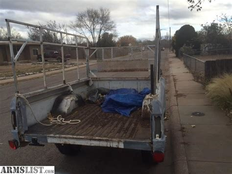 bed rails for sale armslist for sale trade ford truck bed trailer with