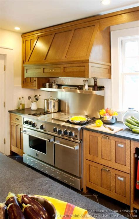 mission style kitchen cabinets traditional light wood mission style kitchens designs and photos