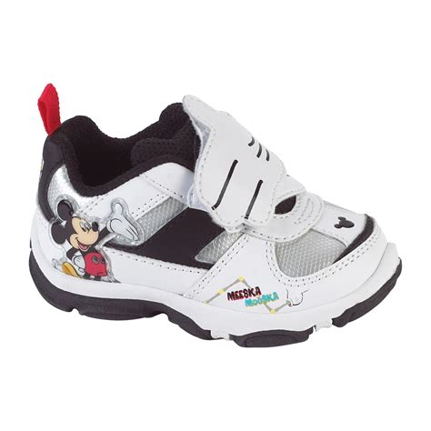 toddler boy athletic shoes disney toddler boy s mickey mouse athletic shoe white
