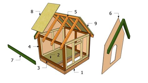 build a home for free diy dog house plans free printable dog house plans diy