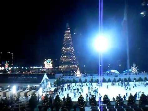 arbol de navidad y z 243 calo iluminado del df mexico 2011