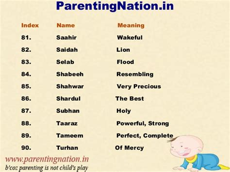 strong boy names muslim baby boy names with meanings