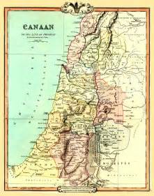 west canaan map map of canaan or the land of promise 1854 made by g f
