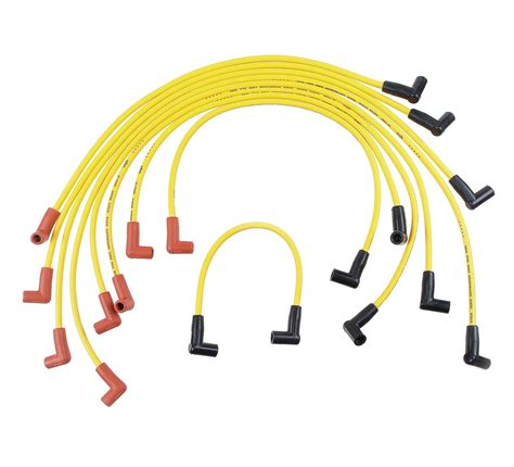 resistor spark yellow bullet accel spark wires stock rfi suppression 8mm yellow stock boots gm v8