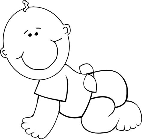 Infant Coloring Pages baby coloring pages 3 coloring pages to print