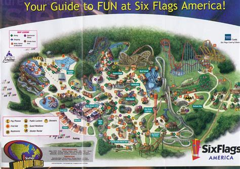 amusement park hacks an manual for america s amusement parks books theme park brochures six flags america in park guide
