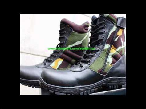 Sepatu Safety Tni Ad sepatu pdl loreng tni ad