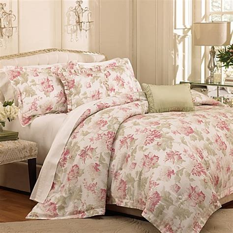 raymond waites soire 5 piece comforter set in petal bed