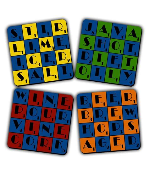 scrabble accessories get fatang bar accessories scrabble style printed mdf