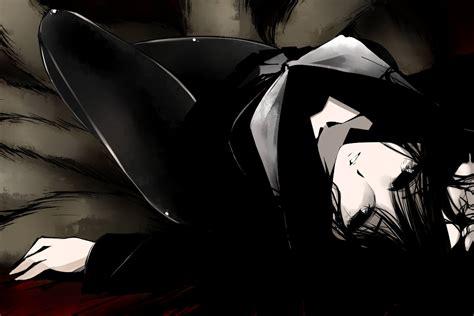 wallpaper dark anime girl dark anime girl wallpaper wallpapersafari