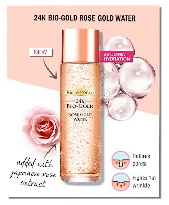 Bio Essence 24k Bio Gold Water free bio essence 24k bio gold gold water 20ml sle