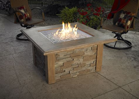 gas firepit tables it s gas pit time official outdoor living