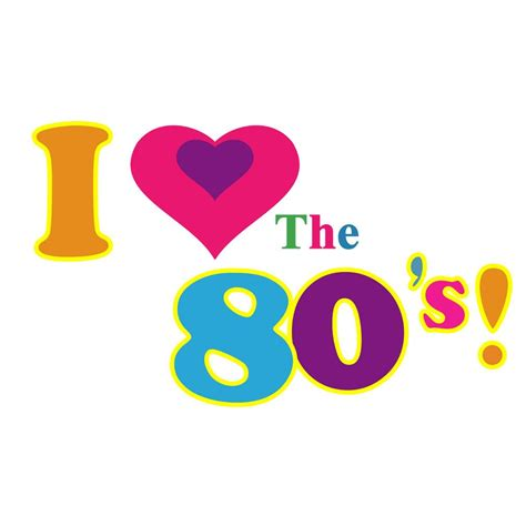 i love the 80s i love the 80s vintage classic fancy diva iron on heat