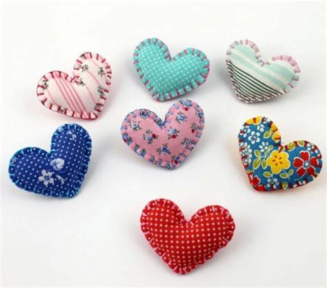 Making Of Home Decorative Items fabric heart sew by you cool diy ideas interior design