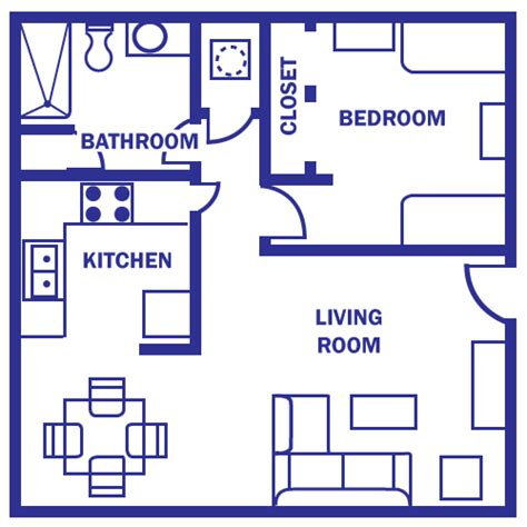 500 sq ft apartment floor plan floor plan under 500 sq ft standard floor plan one