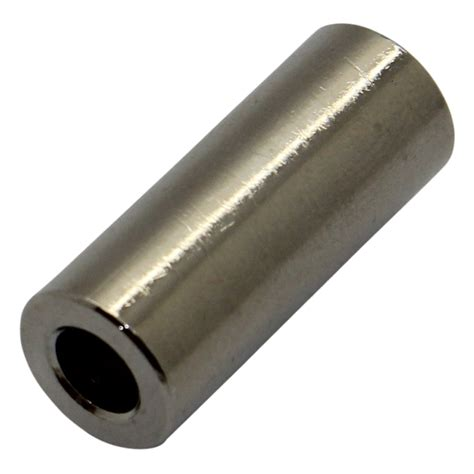 Spacer 8mm 20x dr315 2 6x8 spacer sleeve 8mm cylindrical brass nickel