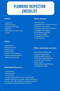 plumbing inspection checklist citywide plumbing pros