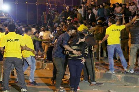 bengaluru new year attacks karnataka minister slammed for