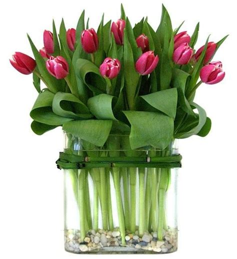 Tulips Arrangements | tulips simple arrangement i love floral arrangements