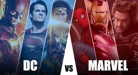 film marvel yang terkenal marvel vs dc kenapa film adaptasi marvel selalu dianggap
