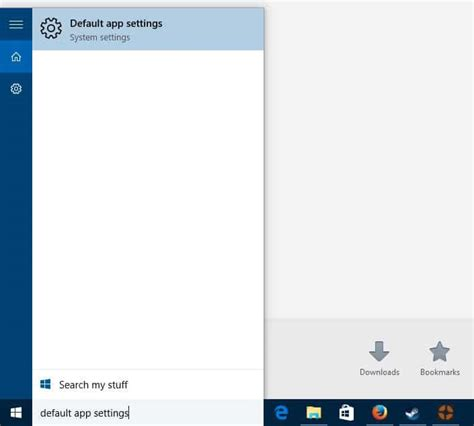 how to change default apps and settings in windows 10 how to make firefox or chrome the default browser in