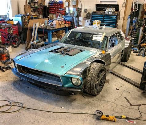 1967 mustang parts custom 1967 mustang with a corvette powertrain update