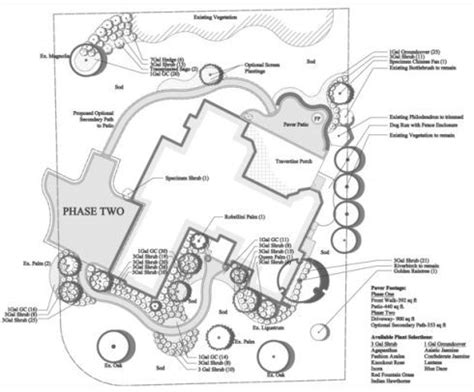 Free Online Landscape Design Exles King County Residential Site Plan Template