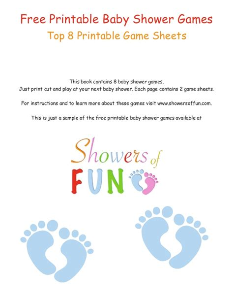 free printable baby shower in free printable baby shower sheets
