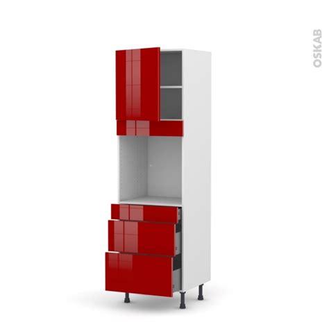 colonne de cuisine 60 cm colonne de cuisine n 176 1658 four encastrable niche 60 stecia