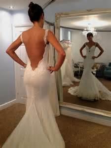 low back wedding dress naf dresses