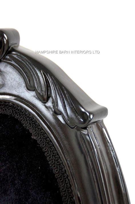 french chateau noir style ornate chair black velvet french chateau noir style ornate chair black velvet
